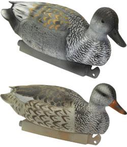 Knutson's Gadwall Duck Decoys, G & H Standard Weighted ...