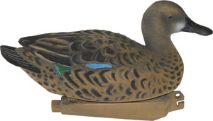 Realistic Sport Plast Teal Drake Hunting Sporting Goods