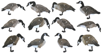 Real Geese Magnum Lite 3D Canada Goose' Decoys 12 Pack
